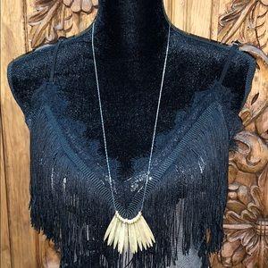 New! Plunder Malisa 2 tone necklace